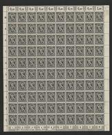 Am-Post-Bogen,16Bz,BT.8,mit XI,gefaltet,xx (M7) - Bizone