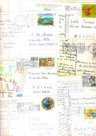 FRANCE / 725 Timbres Grands Formats Sur Cartes Postales - France