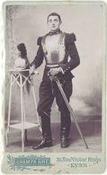 Photo CDV Soldat Cuirassier 10e Rgt  ( Photo Grampa Lyon ) - Guerre, Militaire