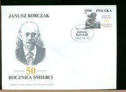 POLSKA - FDC - 1992 - JANUSZ KORCZAK - FDC