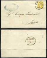 FIUME 1868. Szép 2kr-os Nyomtatvány Triestbe Küldve  /  FIUME 1868 Nice 2 Kr Document To Trieste - Hungary