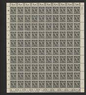 Am-Post-Bogen,16Bz,BT.1,gefaltet,xx (M7) - Bizone