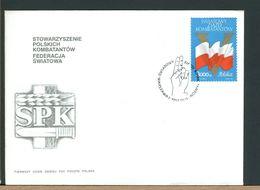 POLSKA - FDC - 1992  - SWIATOWY ZIAZD KOMBATANTOW - FDC