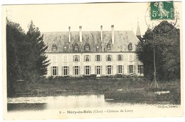 CPA 18 MERY ES BOIS Chateau De Loroy 1909 - France