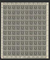 Am-Post-Bogen,16Az,BT.4,mit VIII,,xx (M7) - Bizone