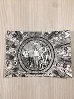 Cartolina-Ravenna-Battistero Degli Ariani VI Sec.-Battesimo Di Cristo E Apostoli - Ravenna