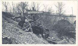 Photo Chemin De Fer ? « Le Ravin De La Mort, 1934 », Meuse - Guerre, Militaire