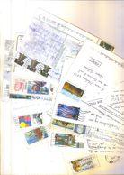 U.S.A. / 750 Timbres  Sur Cartes Postales - Etats-Unis
