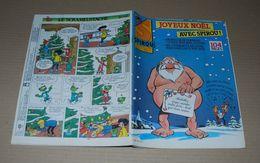 Spirou 2541 (23/12/1986) Spécial Noël Couv Spirou De Janry Avec Le Supplément Petit Père Noël Illustré - Spirou Magazine