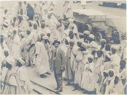 Photo « Inauguration 1er Train Transaharien 1910 » - Lieux