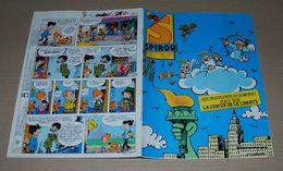 Spirou 2529 (30/09/1986) Couverture De Cromheecke Avec Un Supplément De 48 Pages - Spirou Magazine