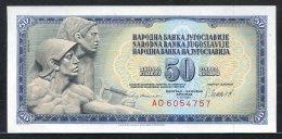 329-Yougouslavie Billet De 50 Dinara 1981 AO605 - Yougoslavie