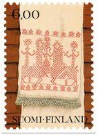 Finland Suomi Folklore Folklorique Folkloric Handmade Piece Handwerk - Folklore