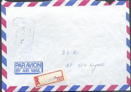 Enveloppe Recommandée Du 11/11/1986 De Kigali BCH ** Vers Kigali (cachet Rdés) -  12498 - Rwanda