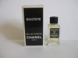 MINIATURE DE PARFUM EGOISTE DE CHANEL EAU DE TOILETTE 4ML - Miniatures Modernes (à Partir De 1961)
