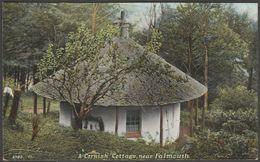 A Cornish Cottage Near Falmouth, Cornwall, C.1908 - Hartmann Postcard - England