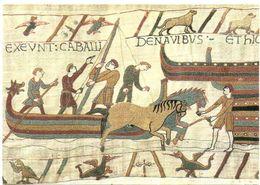 Tapisserie Bayeux  Tapijt  Folklore Folklorique Folkloric  Handmade  Handwerk Chevaux  Navire   Paarden  Horses Pferd - Folklore