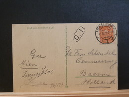 74/277 CP  ALLEMAGNE  1922 - Lettres & Documents