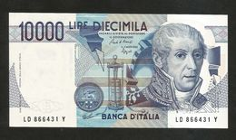 ITALIA - BANCA D' ITALIA - 10000 Lire Alessandro Volta (Firme: Ciampi / Speziali) - REPUBBLICA ITALIANA - [ 2] 1946-… : Repubblica