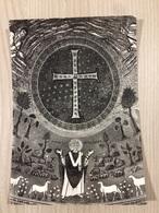 Cartolina-Ravenna-Basilica Di S. Appollinare In Classe-Croce Nel Catino Dell'Abside E S.Appollinare Sec. VI - Ravenna