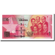 Billet, Ghana, 1 Cedi, 2007-07-01, KM:37a, NEUF - Ghana