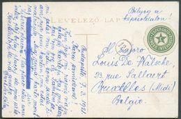 HONGRIE Espéranto - 1 Korona Obl. C BUDAPEST Sur CV Avec Vignette De LINCVO INTERNACIA  Esperanto 1912 - 12501 - Esperanto