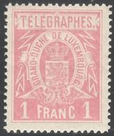Luxemburg Yvert/Prifix Telegraphe 4 Sans Charnière Dent. 11 1/2 TB Cote EUR 75 (numéro Du Lot 254RL) - Telegraphenmarken