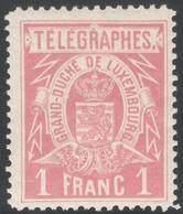 Luxemburg Yvert/Prifix Telegraphe 4 Sans Charnière Dent. 11x11 1/2 TB Cote EUR 40 (numéro Du Lot 255RL) - Telegraph