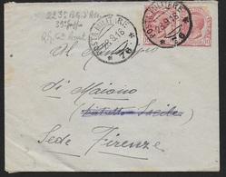 POSTA MILITARE - BUSTA DA PM 76 (BASSANO DEL GRAPPA) (p.1) 28.09.1918 - Poste Militaire (PM)