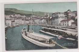 HAUTE CORSE,CORSICA,BASTIA,il Y A 80 Ans,port,bateau,voilier,peche,aqua Photo - Bastia