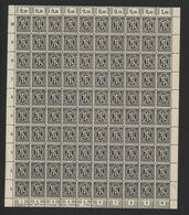 Am-Post-Bogen,16Cz,BT.9,mit III,X,XIII,xx (M7) - Bizone