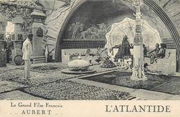 CINEMA L'atlantide De Aubert 1921 2 Scans - Cinema