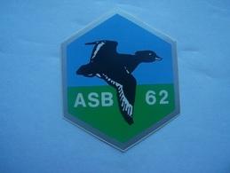 X8-bis---autocollant-chasse-gibier D Eau- Scarpe - Stickers