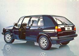 Allemagne - Publicité Wolkswagen Golf - Ecrite, Timbrée - 4325 - Passenger Cars