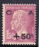 YT 251 Pasteur Caisse D'amortissement N** MNH Impureté Dans Le Papier, Voir Scan - Sinking Fund
