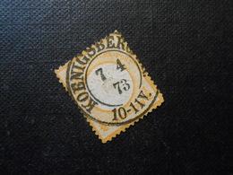 D.R.Mi 18 - 1/2Gr - Reichspost - 1872 - Mi 12,00 € - Usados