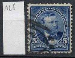 Etats Unis - Vereinigte Staaten - USA 1898-99 Y&T N°125 - Michel N°128 (o) - 5c U Grant - 1847-99 Emissions Générales