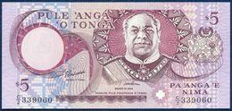 TONGA 5 PA'ANGA PAANGA P-33c 1995 UNC - Tonga