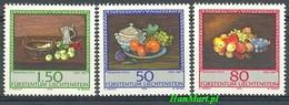 Liechtenstein 1990 Mi 990-992 MNH ( ZE1 LCH990-992 ) - Obst & Früchte
