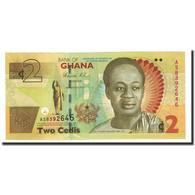 Billet, Ghana, 2 Cedis, 2010-03-06, KM:37a, NEUF - Ghana