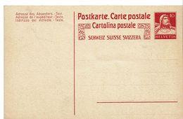 CARTE POSTALE  Trilingue Timbre Type 138 + - Interi Postali