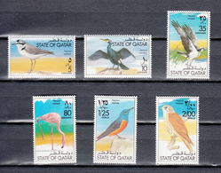 Qatar 1973,6V,set,birds,vogels,vögel,oiseaux,pajaros,uccelli,aves,,MNH/Postfris(A3542) - Oiseaux