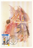 D32592 CARTE MAXIMUM CARD FD 1992 NETHERLANDS - VOLLEYBALL OLYMPICS CP ORIGINAL - Volleyball