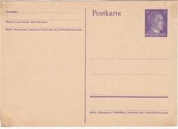 Postal Stationery Postkarte Unused B180122 - Deutschland