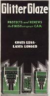 Publicité Peinture Auto Automobile Glitter Glaze Corneliussen Anvers - Publicités