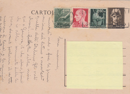 Cartolina Postale Luogotenenza Lire 1.20 + Complementari - 21.9.46 - Poststempel