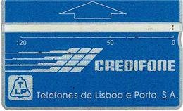 PHONECARDS-PORTUGAL --- TLP--OPTICAL- AZUL---120 U-- BATCH--147G - Portugal