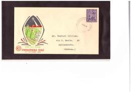 "AUSFDC187  -  TOOWOOMBA   17.10.1962  /   ""  CHRISTMAS   "" -      FDC - Primo Giorno D'emissione (FDC)"
