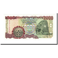 Billet, Ghana, 2000 Cedis, 2003-08-04, KM:33h, NEUF - Ghana