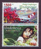 Indonesia - 2006, Environmental Care 2v - UM - Indonesia
